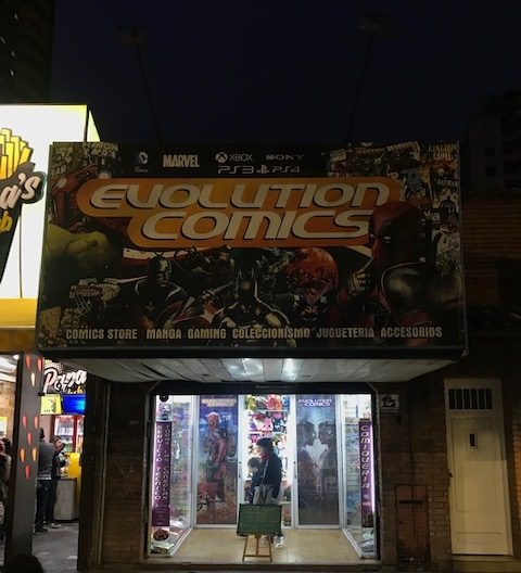 Evolution Comics